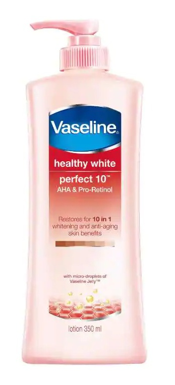 Vaseline Healthy White Perfect 10 Aha & Pro-Retinol