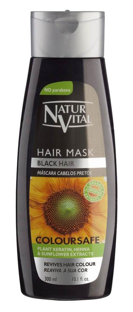 Natur Vital Coloursafe Black Hair Mask