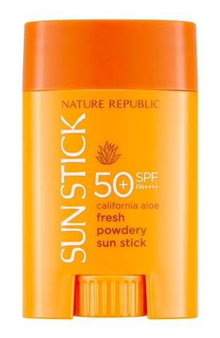 Nature Republic California Aloe Fresh Powdery Sun Stick [SPF50+/PA++++]