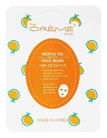 The Creme Shop Neroli Oil Infused Face Mask