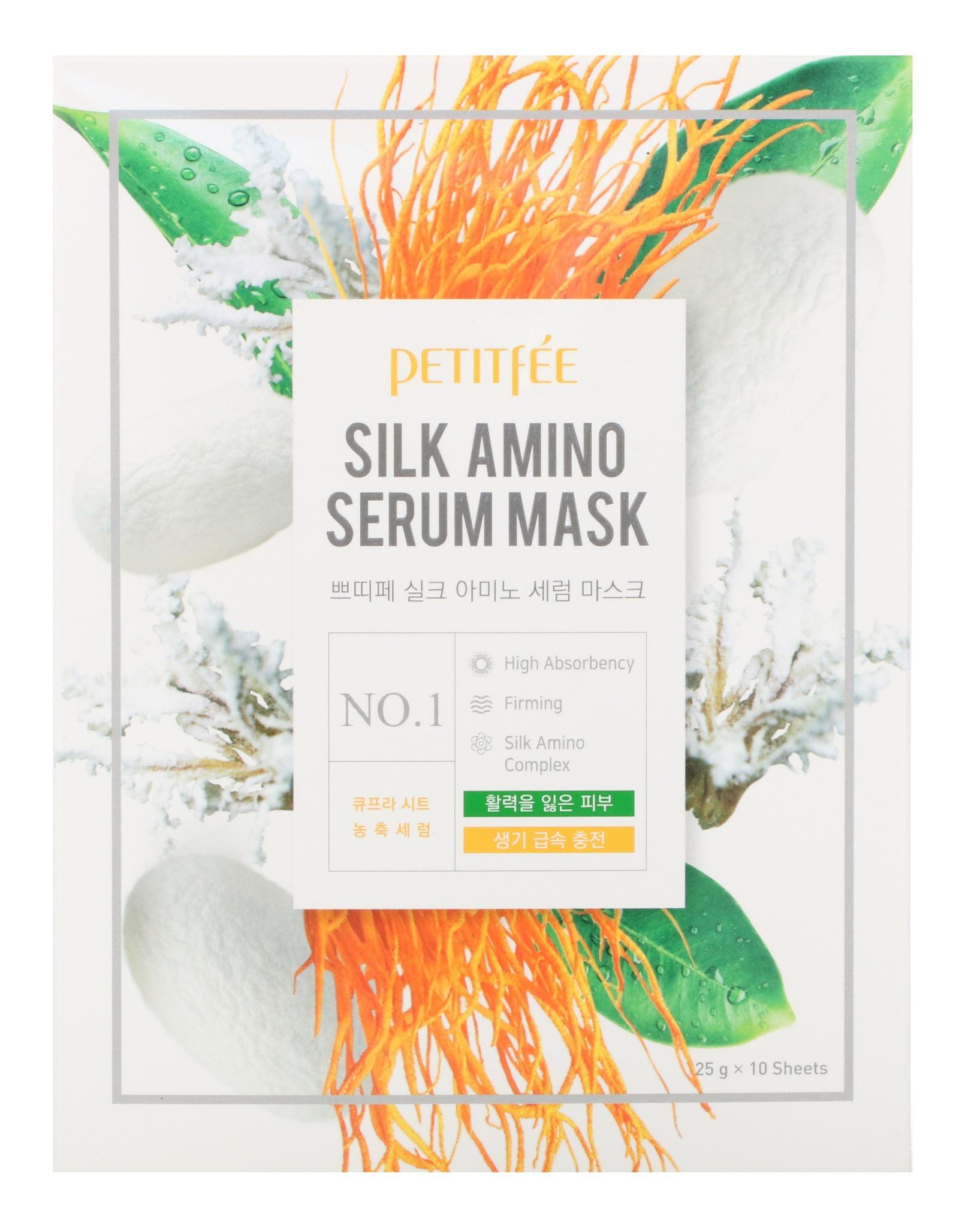 Petitfee Silk Amino Serum Mask