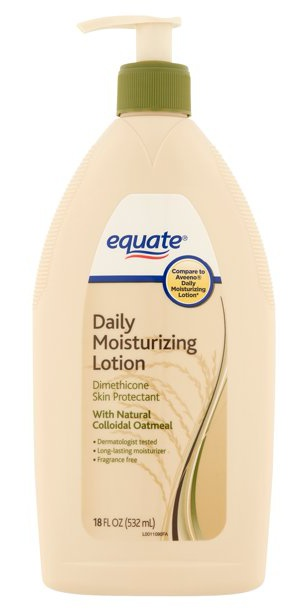 Equate Daily Moisturizing Lotion With Natural Colloidal Oatmeal