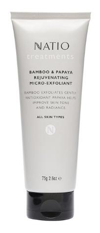 Natio treatments Bamboo & Papaya Rejuvenating Micro-Exfoliant