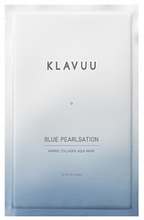 KLAVUU Blue Pearlsation Marine Collagen Aqua Mask
