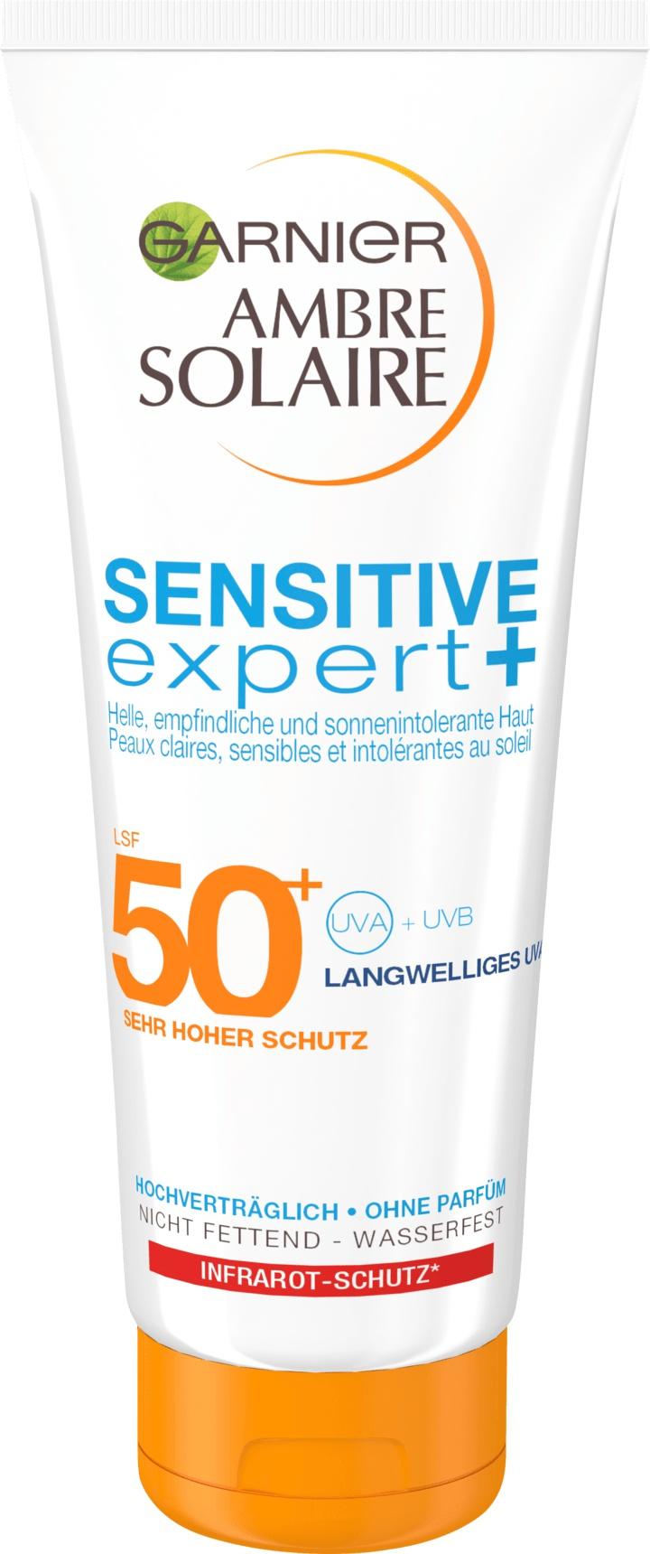 Garnier Ambre Solaire Sensitive Expert SPF 50+
