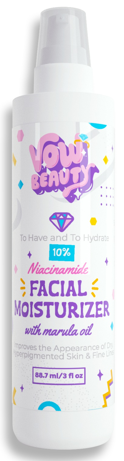 Vow Beauty To Have And To Hydrate 10% Niacinamide Facial Moisturizer