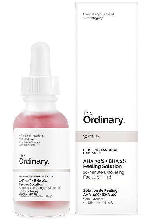 The Ordinary Aha 30% + Bha 2% Peeling Solution (Old Version)