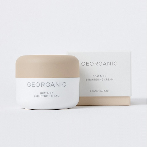 Georganic Goat Milk Brightening Cream