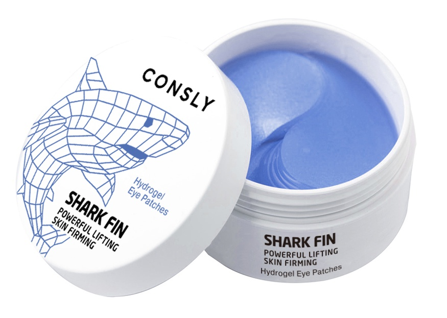 consly Hydrogel Shark Fin Eye Patches