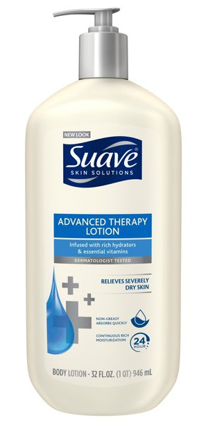 Suave Advanced Therapy Lotion