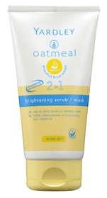 Yardley Oatmeal 2-in-1 Brightening Scrub/Mask