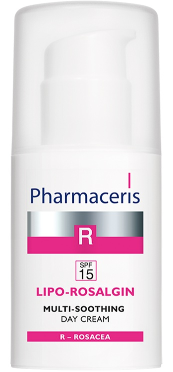 Pharmaceris R Multi-Soothing Face Cream For Dry, Normal And Sensitive Skin Spf 15