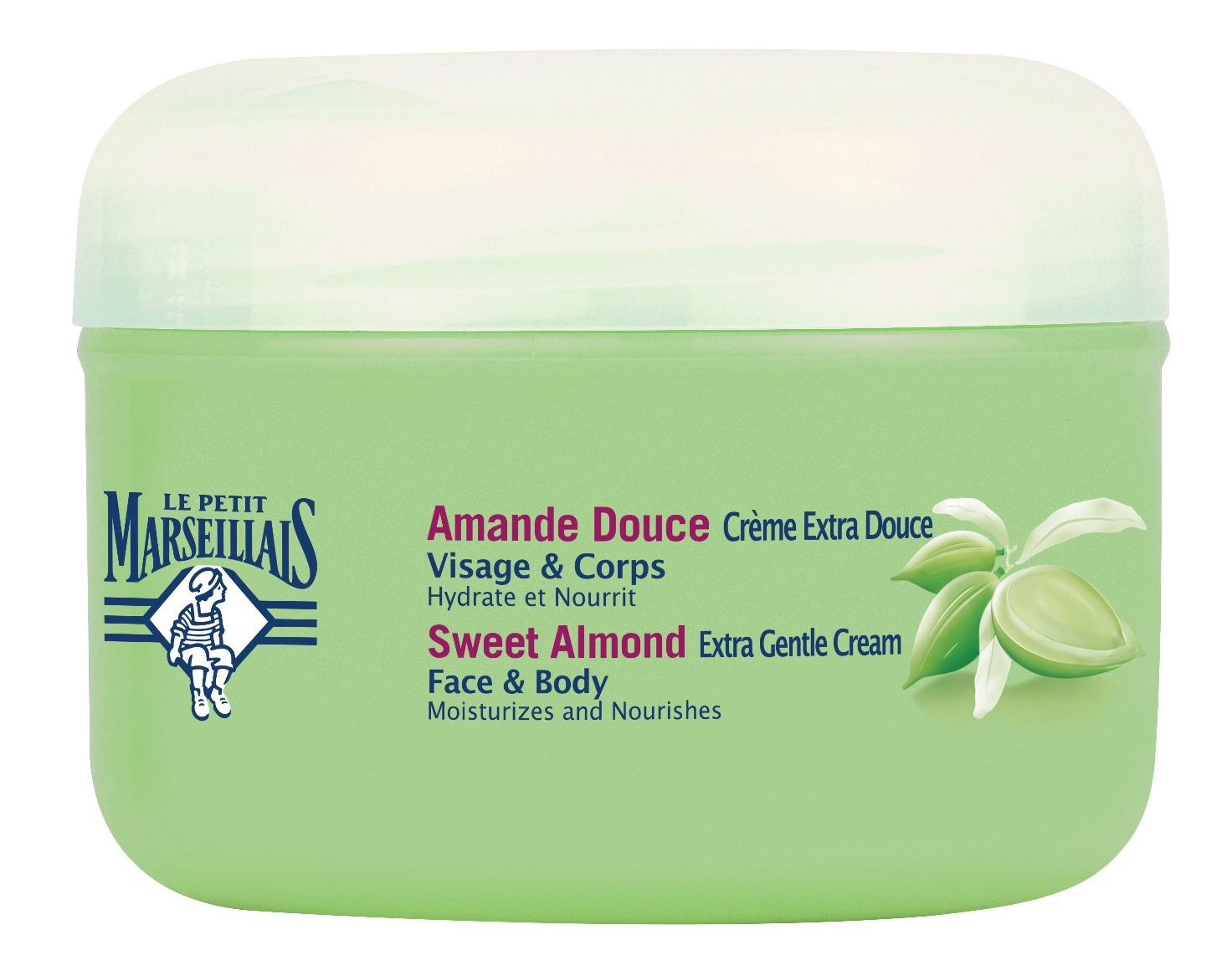 Le Petit Marseillais Extra Gentle Cream Sweet Almond Face & Body