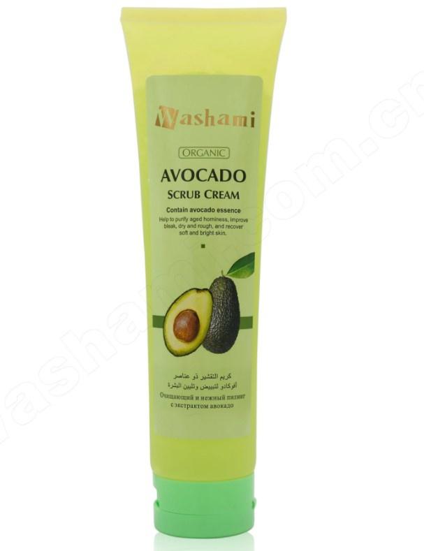 Washami Avocado Scrub Cream
