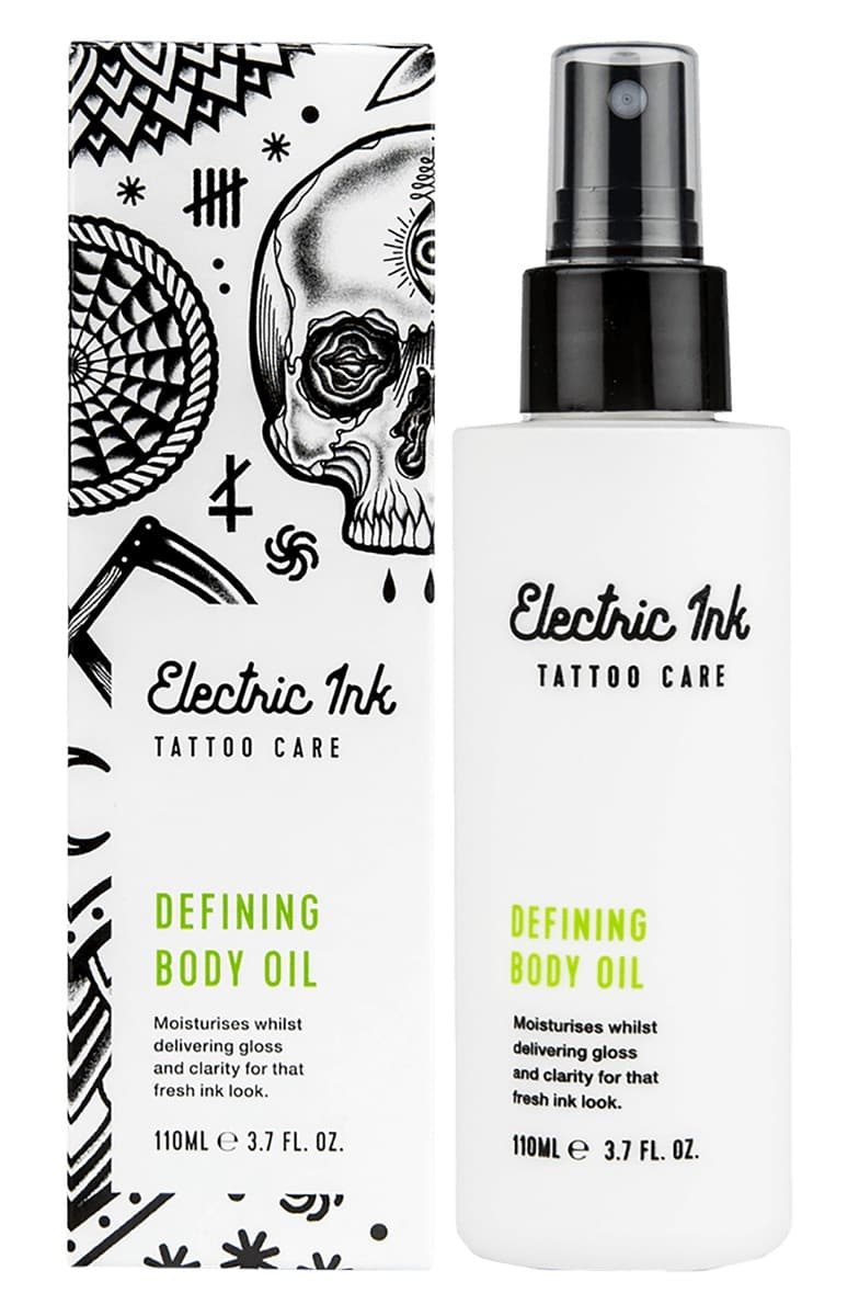 Electric Ink Defining Tattoo Body Oil