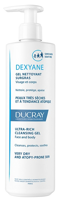 Ducray Dexyane Ultra Rich Cleansing Gel