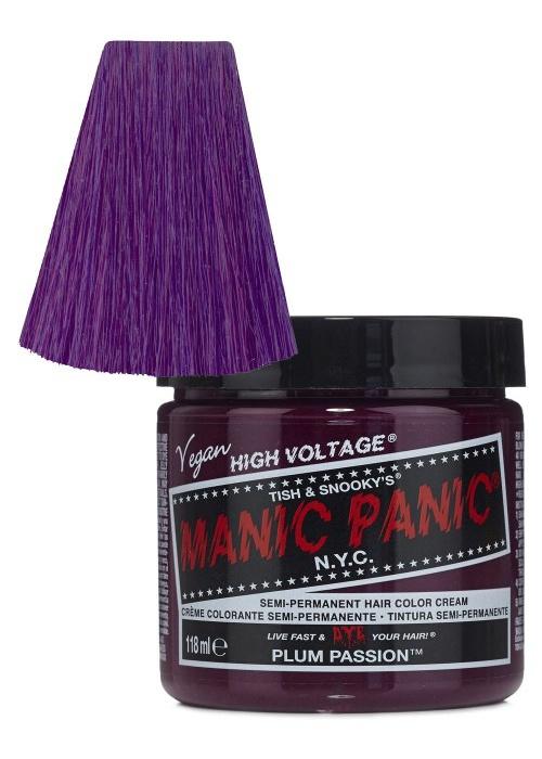 Manic panic Semi Permanent Hair Colour Cream Plum Passion