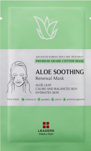 Leaders Aloe Soothing Renewal Sheet Mask