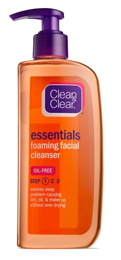 Clean And Clear Essentials Foaming Facial Cleanser