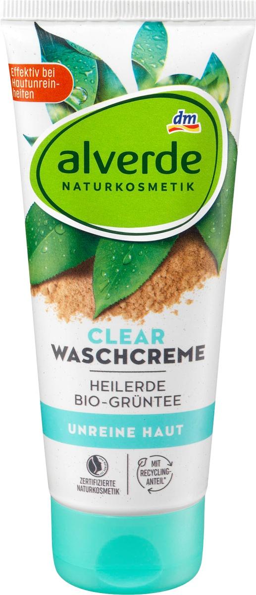 Alverde Naturkosmetik Clear Waschcreme