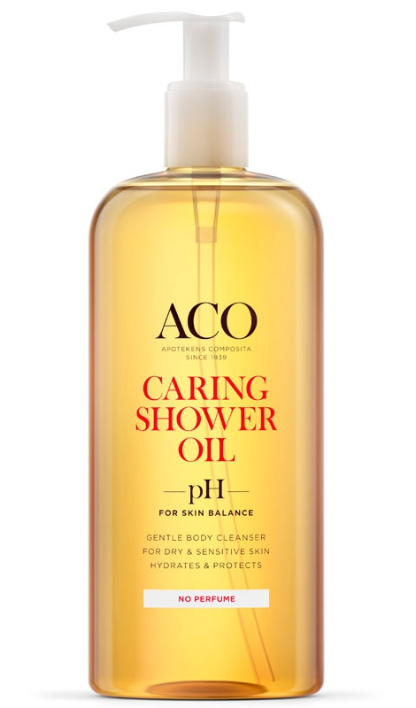 ACO Caring Shower Oil Unscented