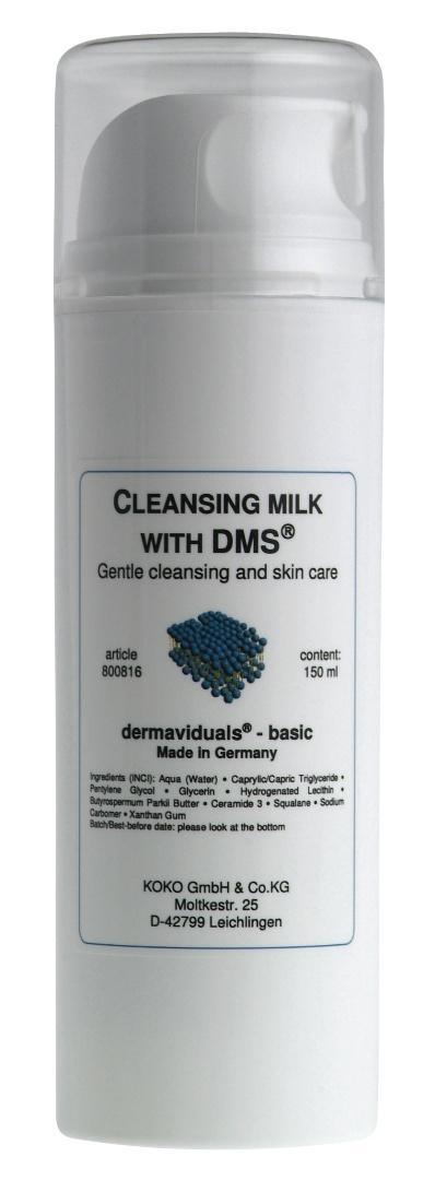 Dermaviduals Cleansing Milk with DMS