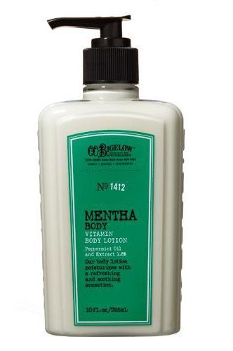 C.O. Bigelow Mentha Peppermint Vitamin Body Lotion No.1412