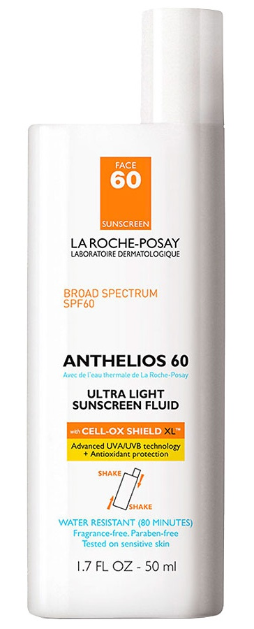 La Roche-Posay Ultra Light Face Sunscreen Fluid Spf 60 With Cell Ox Shield Xl