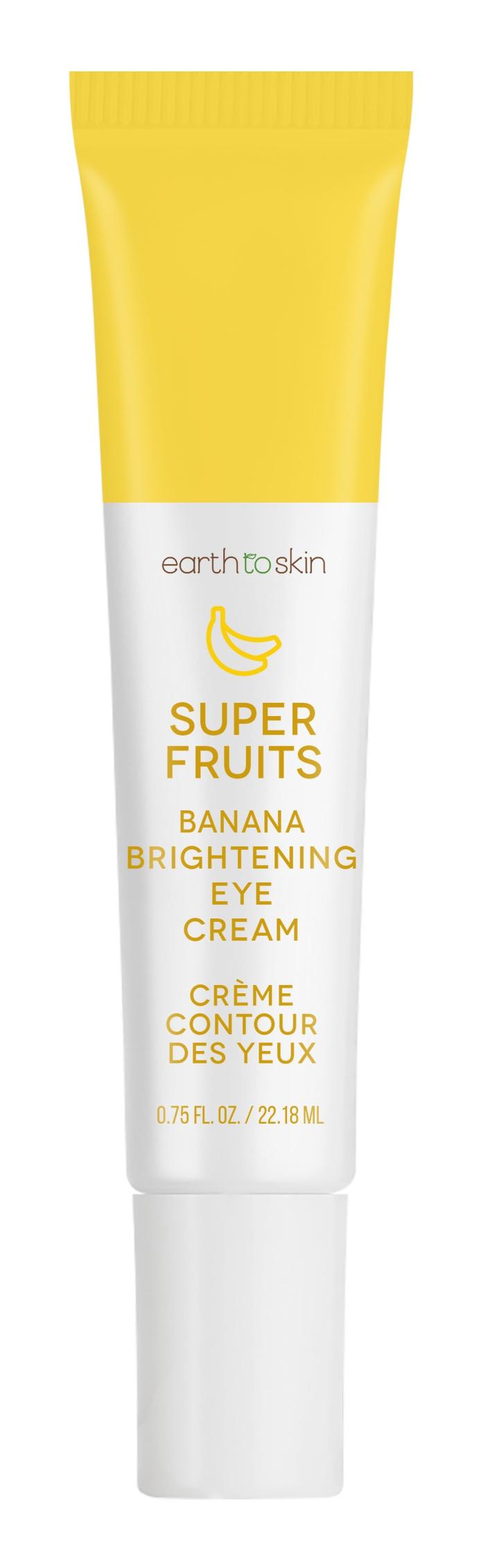 Earth To Skin Super Fruits Banana Brightening Eye Cream