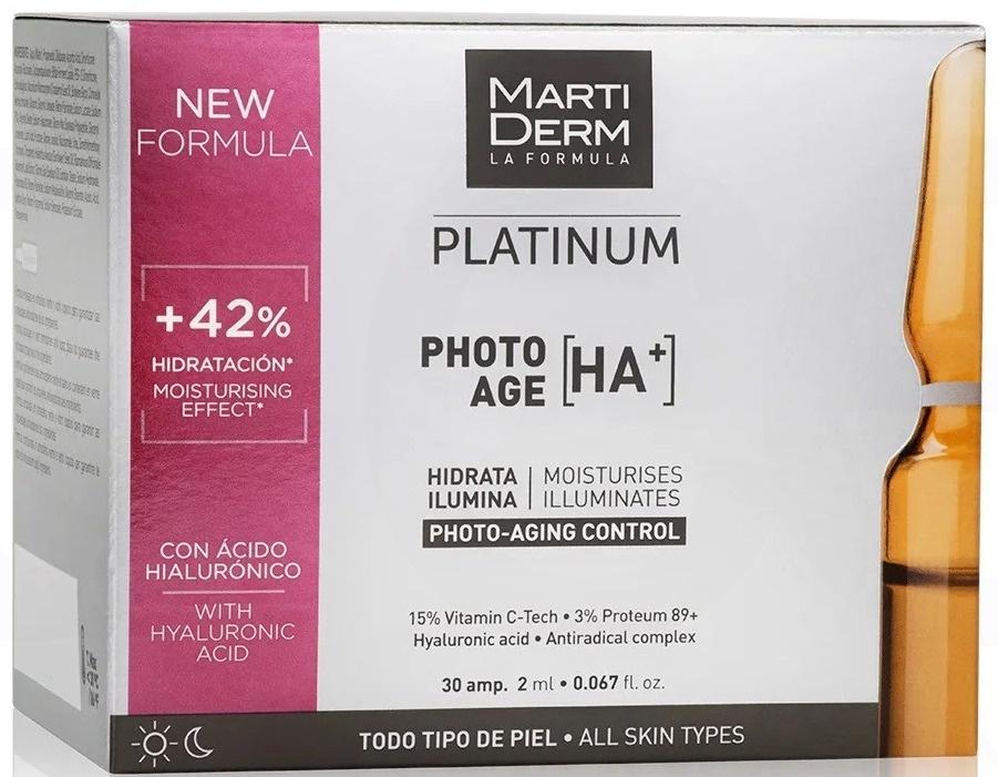 MARTIDERM Platinum Photoage HA+