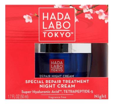 Hada Labo Tokyo Special Repair Treatment Night Cream (with Tetrapeptide-5)