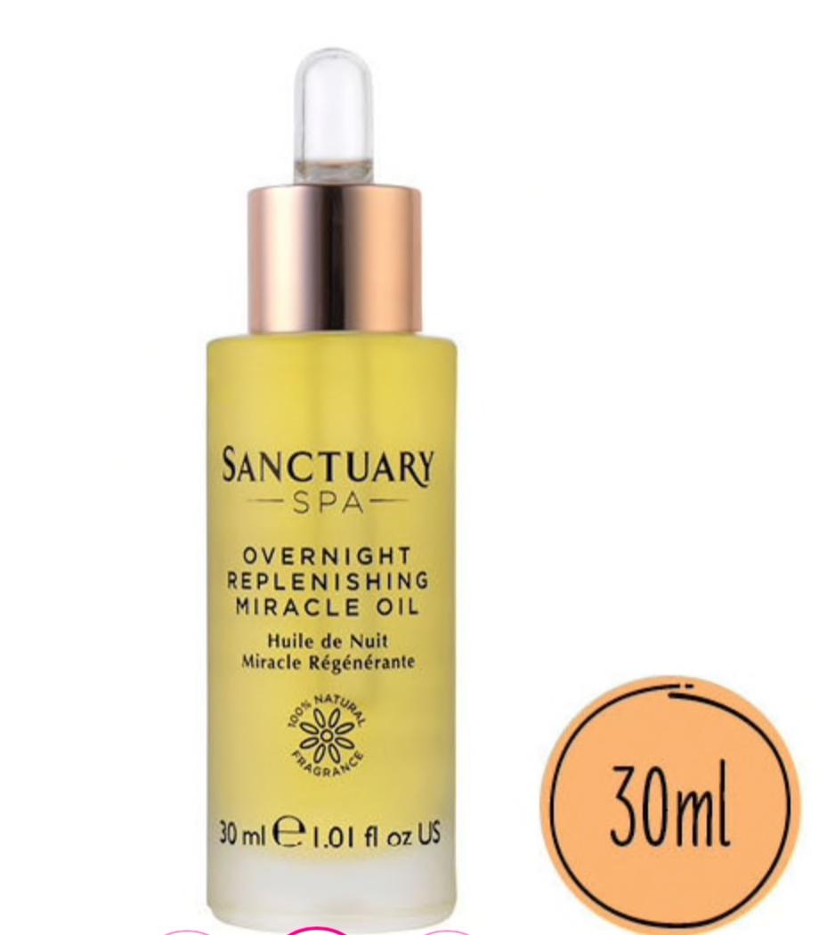 Sanctuary Spa Overnight Replenishing Miracle Facial