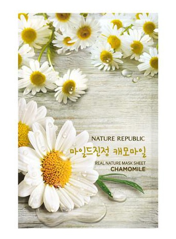 Nature Republic Real Nature Mask Sheet Chamomile