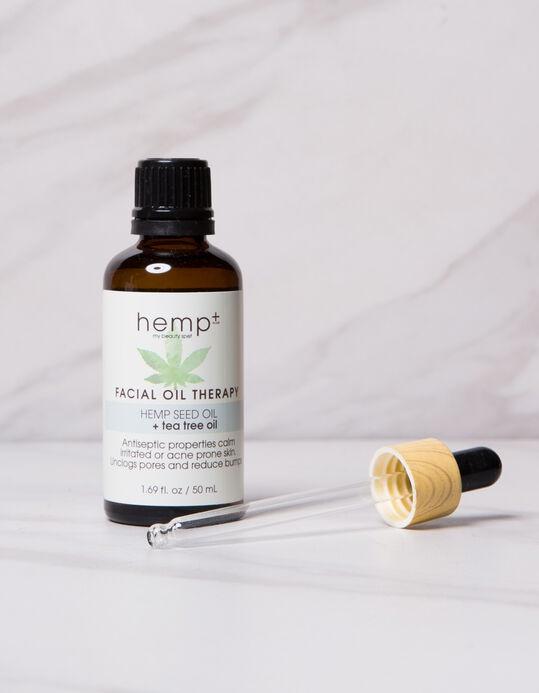 hemp + Facial Oil Therapy (Hemp Seed Oil+Argan Oil)