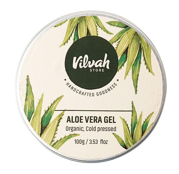 Vilvah Aloe Vera Gel - 100% Pure And Cold Pressed