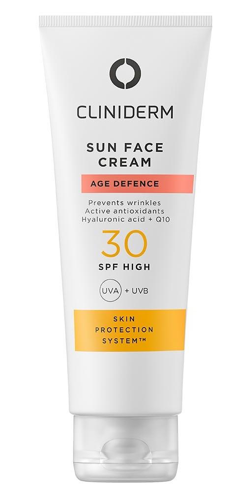 Cliniderm Sun Face Cream Age Defense Spf30