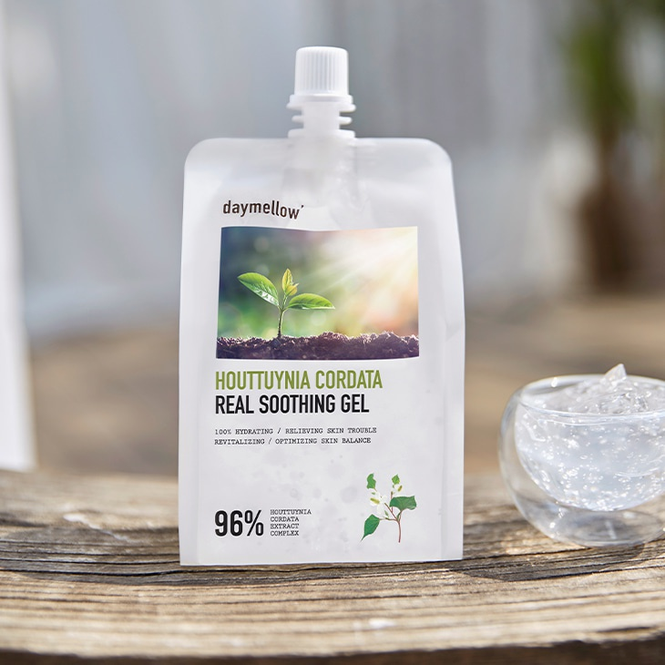 Daymellow Houttuynia Cordata Real Soothing Gel