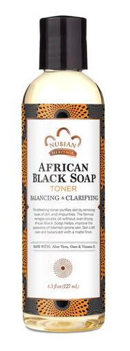 Nubian Heritage African Black Soap Facial Toner