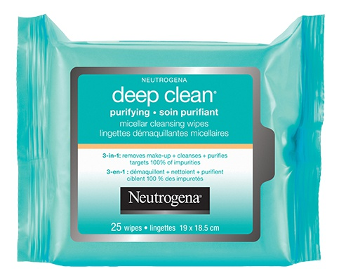 Neutrogena Deep Clean Purifying Micellar Cleansing Towelettes