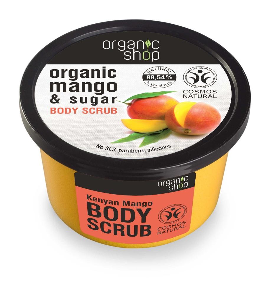 Organic Shop Body Scrub - Organic Mango & Sugar