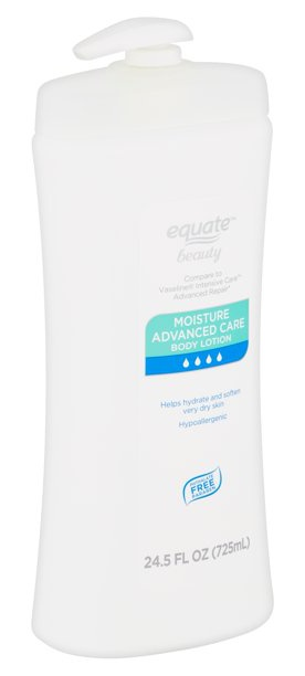 Equate Beauty Fragrance Free Moisture Advanced Care Body Lotion