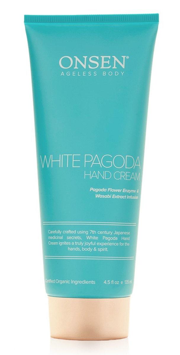 Onsen Secret Ageless Body White Pagoda Hand Cream