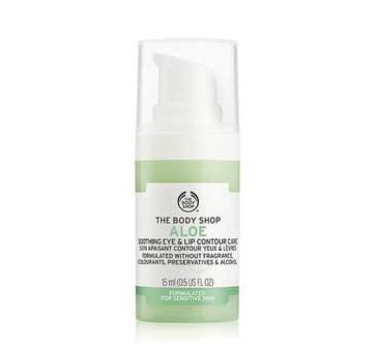 The Body Shop Aloe Soothing Eye & Lip Contour Care