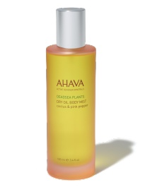 Ahava Dry Oil Body Mist - Cactus And Pink Pepper