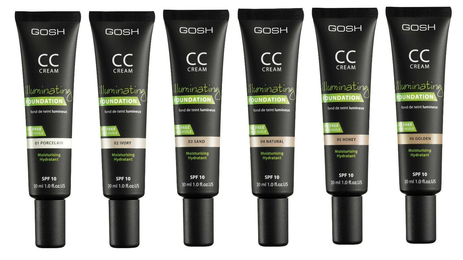 Gosh Cc Cream - Illuminating Foundation