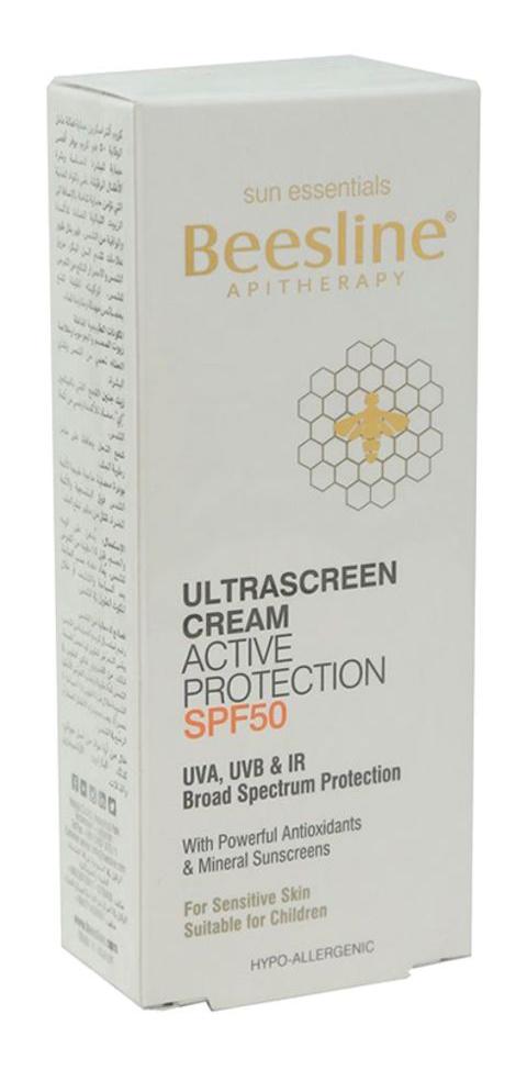 Beesline Apitherapy Ultrascreen Cream Active Protection SPF50