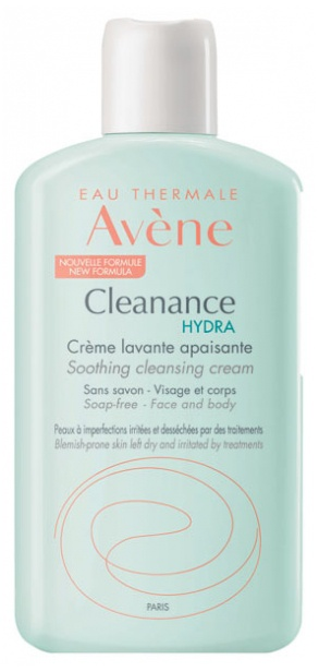 Avene Cleanance Hydra Soothing Cleansing Cream
