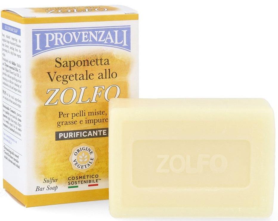 I Provenzali Sulfur Soap Bar