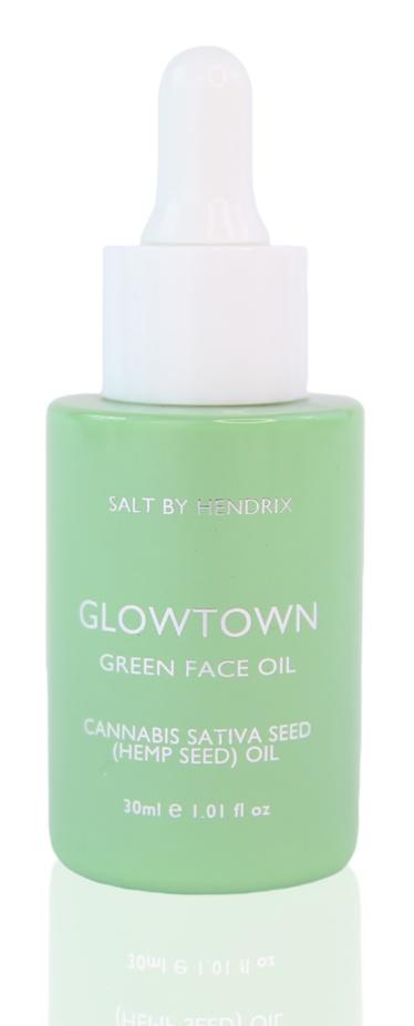 Salt By Hendrix Glowtown Green Face Oil