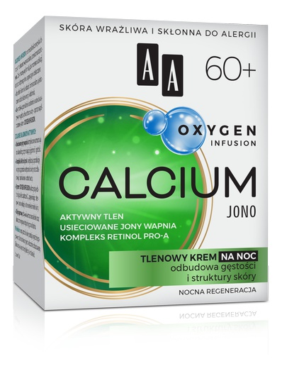 AA Oxygen Infusion Calcium Krem Na Noc